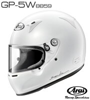 AraiアライヘルメットGP5W-8859SNELSA/FIA8859規格4輪公式競技対応モデル