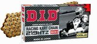 DIDレーシングカートチェーン219(G&G)HTZSDH96L〜116L