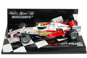 フォースインディア VJMO1 F1 2008 #21 ジャンカルロ・フィジケラ 1/43 ミニチャンプス モデル...