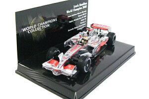 マクラーレンメルセデス F1 2008 ルイス・ハミルトン ワールドチャンピオン カー 1/43 ミニチ...