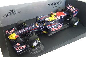 Red Bull(レッドブル F1) Racing Renault 2011 RB7 本戦仕様 S.ベッテル 1/18 ミニチャンプス ...