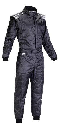 OMP KS-4 レーシングスーツ ブラック CIK-FIA LEVEL-1公認 レーシングカート・走行会用