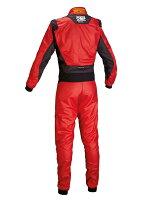 2016年ニューモデルOMPONESレーシングスーツレッド(RED)FIA8856-2000公認注文予約