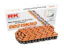 RK DD219KRO チェーン オレンジ レーシングカート...