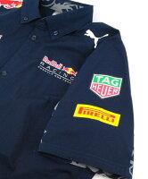 PUMA×RedBullレーシングF1チームLSチームチームシャツ(761955-01)