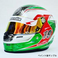 STILOST5CMRWHITERACINGKARTHELMET(スティーロスネルCMR2007レーシングカート用ヘルメットグロスホワイト)
