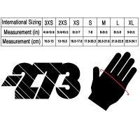 -273ZeroKartingGloveCyanマイナス273ゼロレーシングカートグローブシアン