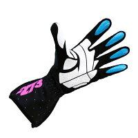 -273SkeletalKartingGloveBlackマイナス273スケルタルレーシングカートグローブブラック