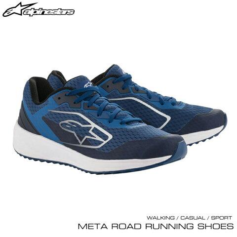 2020年NEWモデル! アルパインスターズ META ROAD RUNNING SHOES ブルー×ホワイト(72) ウォーキング・カジュアル・スポーツシューズ (2654520-72)