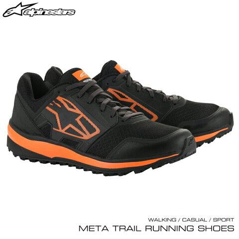 2020年NEWモデル! アルパインスターズ META TRAIL RUNNING SHOES ブラック×オレンジ(14) ウォーキング・カジュアル・スポーツシューズ (2654820-14)