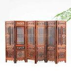 置物 ミニチュア家具 屏風 木彫り 中国風 木製
