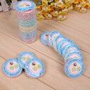 圧縮タオル 使い捨て コンパクト 色はランダム 20個セット