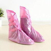 シューズカバー 靴カバー レインシューズ (ピンク)