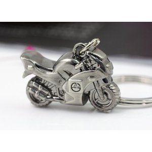 キーホルダー バイク型 メタリック 【送料無料】
