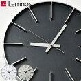 タカタレムノスEdgeClockエッジクロック掛け時計掛時計壁掛け時計壁掛時計おしゃれアルミスイープムーブメントシンプルかっこいいデザインシャープインテリア雑貨北欧リビングギフト贈りものLemnos