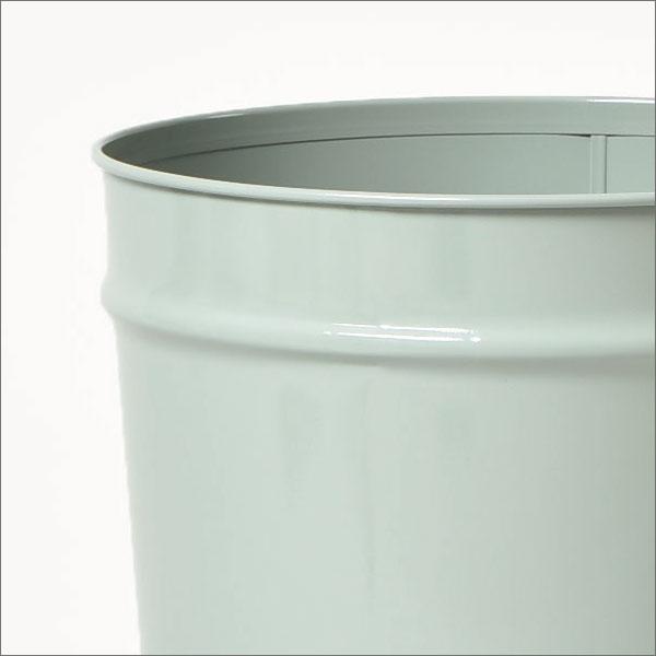 ゴミ箱 おしゃれ シンプル 飽きのこないデザイン ロングヒットアイテム スチール製 頑丈 職人の技 日本製 レトロ インテリア 収納として 10リットル可 10L可 ブラック ホワイト グレー( ぶんぶくテーパーバケット 大 bunbuku )