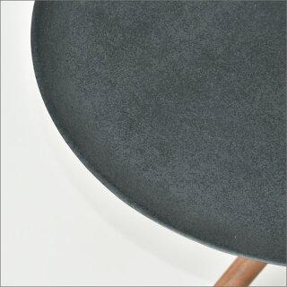 サイドテーブルカナヤソファーサイドテーブルナイトテーブルベッドサイドテーブル寝室おしゃれコンパクトサブテーブルテーブルシンプルインテリア雑貨北欧リビング丸テーブル円形丸型デザインアルミ鋳物ウォールナット無垢KANAYA