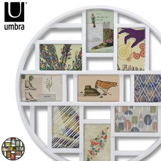 Umbraアンブラルナウォールフレームアート(フォトフレーム/写真立て/アンティーク/壁掛け/複数/出産祝い/結婚祝い/贈り物/誕生日/プレゼント/おしゃれ/インテリア雑貨/北欧テイスト