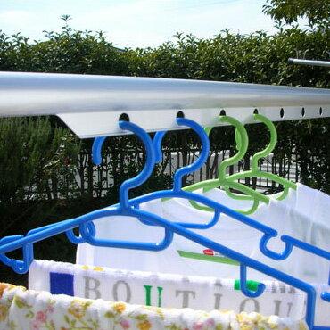 サビないアルミ物干し竿伸び縮みするハンガー掛け付伸縮竿(1.1mから1.6mまで伸びる)シルバー色洗濯竿おしゃれ【日本製】【メーカー1年保証】