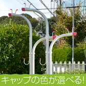 物干し 物干し台 洗濯物干し 横幅63センチ iS−Yシルバ色+ベース付き(日本製)