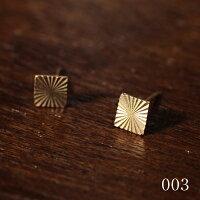 【受注販売】Laboratorium(ラボラトリウム)diamondtextureposts10KYG001(丸)/002(三角)/003(四角)/004(六角)