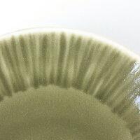 essence樹の音工房渕縞皿Sサイズ〈オリーブ〉