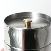 工房アイザワBlackPimentTEACADDYブラックピーマンティーキャディー(茶筒)