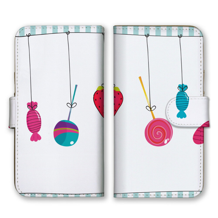 手帳型 全機種対応 ケース SIMフリー対応 スマホ スマートフォン iPhone11 X/XS Max SE2対応ケース 花 植物 ガーデニング ハート 手書き 下手 可愛い デザイン アート アート柄 雲 ベランダ 北欧 お洒落 水色 紫 ピンク 緑 赤 茶 set12257