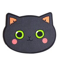 コンパクトミラーネコフェイスミラー鏡ネコちゃん猫ねこ携帯ケースミラー