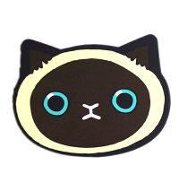 期間限定コンパクトミラーミニ鏡コンパクトミラーかわいい猫手鏡携帯ミラーネコフェイスアニマルネコちゃん猫ねこ携帯ケースミラー