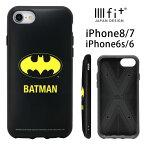 バットマン IIIIfit iPhone8 iPhone7 ケース アメコミ ヒーロー DC スマホケース キャラクター マーク 黒 ブラック カバー ジャケット シンプル クール アイフォン7 アイホン 8 iPhone 6s ハードケース アイホン7 グッズ | se2 第2世代 第二世代 iphonese 2 新型 2020 se