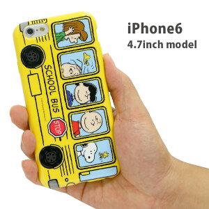 ストラップホール付き!iPhone6ケース カバー スヌーピー アイフォン6 アイフォーン6 メンズ レ...