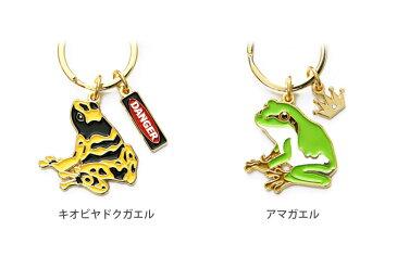 全6種 カエル キーリング 鍵 かわいい リング 便利 キーホルダー グッズ 両生類 アマガエル 毒ガエル オシャレ 青 ブルー カラフル 赤 レッド イエロー 黄色 グリーン 蛙 かえる アクセサリー
