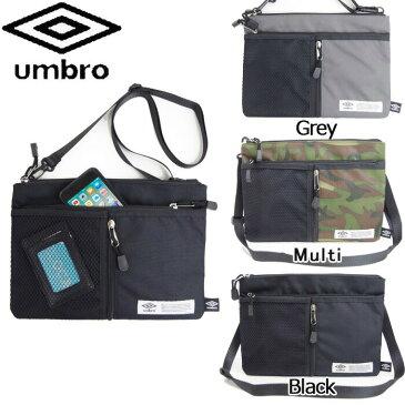 アンブロ サコッシュ ショルダーバッグ UMBRO 70195 斜めがけ メンズ シンプル 軽量 おしゃれ 郵 メール便 対応