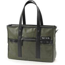 BERMASREACTバーマスリアクトビジネストートバッグ日本製豊岡鞄カーキ60342-51