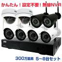 防犯カメラセット 224万画素 屋外 AHDカメラ6台と16chデジタルレコーダーセット(2TB内蔵)【SET650-AHD-6】