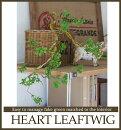 【ハートリーフツイッグ】【みどりの雑貨屋】観葉植物フェイクグリーンインテリア雑貨おしゃれエアープランツ模様替えイミテーション壁掛けギフトプレゼント売れ筋