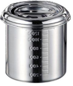 保存容器・調味料入れ, 保存容器・キャニスター 18-8 16cm 11016-1 ()