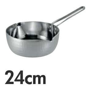 TKG 共柄厚板 IH アルミ雪平鍋 目盛付 24cm