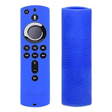 リモートコントロールカバー、ラティスデザインFire TVスティック用アンチスリップシリコーン保護カバーFire TV用4K Fire TV(第3世代)Fire TV Cube