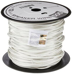 Monoprice Monoprice Access Series 12AWG CL2 Rated 2-Conductor Speaker Wire 500ft White