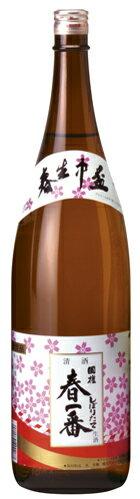 【国権酒造】本醸造生原酒 季節限定品春一番 1.8Lの商品画像