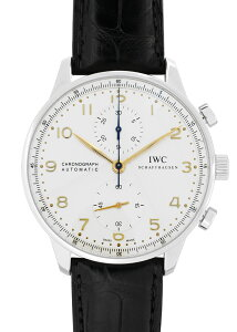 IWC - PORTUGUESE CHRONOGRAPH【Dバックル】 IWC IW371445 ポルトギーゼ クロノグラフ SS 白文...