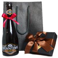 大人向けのビールとチョコレートのコラボ!ギフト袋付きバレンタイン・チョコレートポーター(ビ...