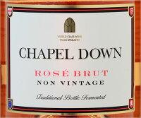 チャペルダウン・ロゼブリュットNV(ロゼスパークリングワイン)