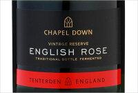 チャペルダウン・スパークリング・イングリッシュロゼNV(ロゼスパークリングワイン)