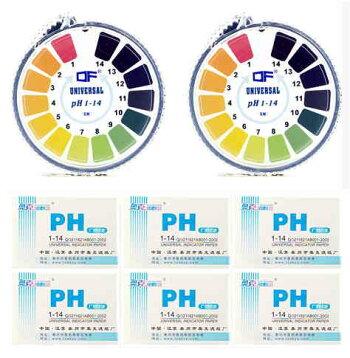 PH試験紙セット(ロールタイプ/スティックタイプ)リトマスアルカリ酸性検査自由研究アルカリPH試験PH0‐14【送料無料】tak-b14
