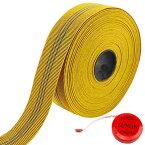 家具 修理 用 ウェビングテープ イエロー 5cm×10M メジャー付 ウェビング ベルト エラスベルト ソファ 補修 座面 張り替え 【送料無料】tak-b52