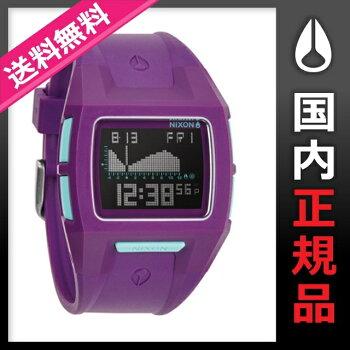 【2014SUMMERモデル】ニクソンNIXON腕時計NIXON/THELODOWNSPURPLEメンズorレディース