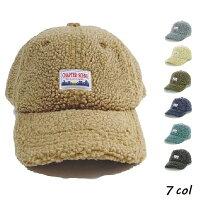 ワッペンボアローキャップ帽子キャップボアキャップワッペンキャップベルト調節可秋冬メンズレディース楽天モカmoocaおしゃれペアお揃い